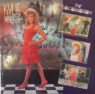 "Kylie Minogue - The Loco-Motion (7"") (VG-/G+)"